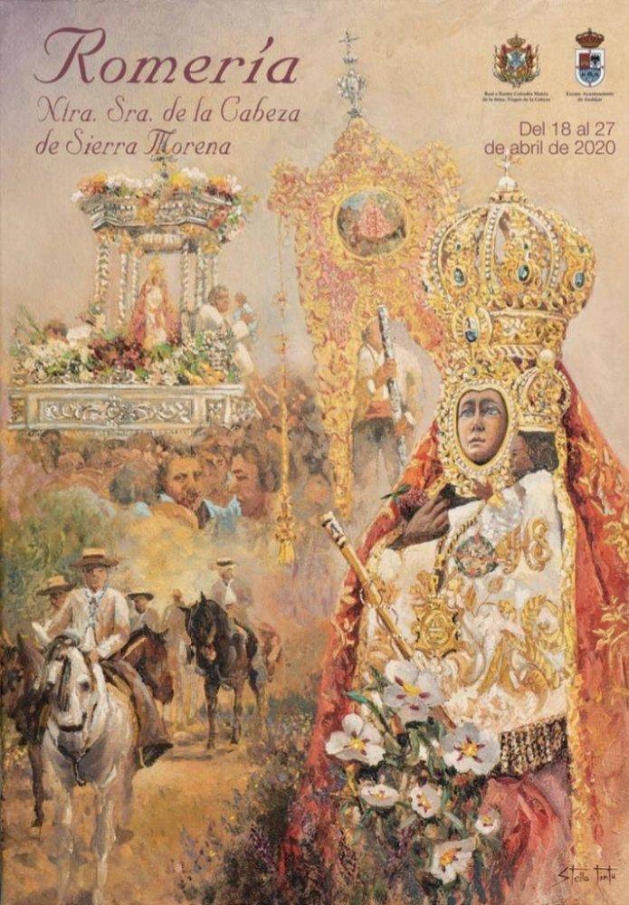 Cartel de la Romería de la Virgen de la Cabeza 2020