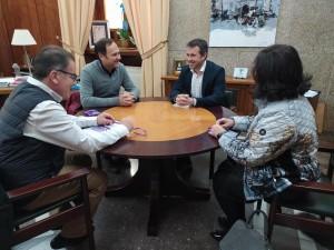 El alcalde de Jaén recibe a la Buena Muerte