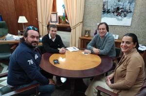 La presidenta del Rocío mantiene una reunión con el alcalde de Jaén