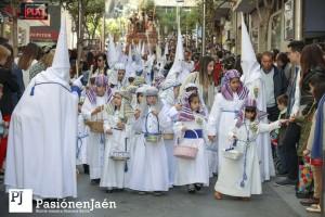 Niños hebreos de la Borriquilla - Domingo de Ramos de 2019
