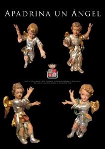 Restauración de los ángeles de la Virgen de la Capilla