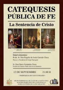 Catequesis sobre la Sentencia de Cristo
