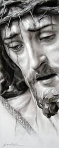 Dibujo de Jesús de la Sentencia, obra de Francisco Galán