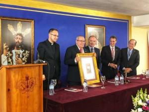 Fernando Casado, candidato a hermano mayor de la Santa Cena