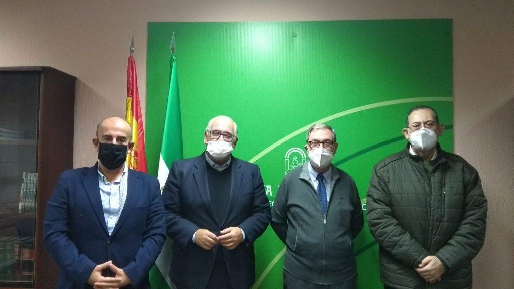 Visita a la Delegación del Gobierno de la Junta de Andalucía