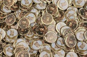 Medallitas de la Cofradía del Abuelo